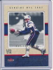 2002 FLEER GENUINE DAVID PATTEN DESCENDING SSSP PARALLEL #/D 23/27 PATRIOTS