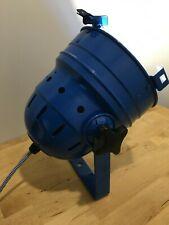 Theatre/Stage Lamp - Industrial/Retro Chic Table or Floor Lamp - Blue