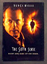 The Sixth Sense - Bruce Willis - Film Presseheft (Y-7048+