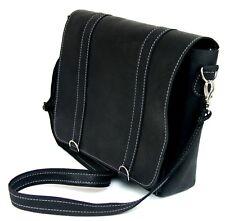 Real Leather Messenger Bag Shoulder College Crossbody Satchel Causal all-rounder