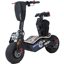 Mototec Mad 1600w Electric Scooter - 48v - Knobby Tires - Disk Brake, New