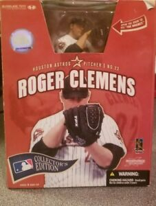NEW 2006 MLB MCFARLANE COLLECTORS EDITION ROGER CLEMENS HOUSTON ASTROS #22