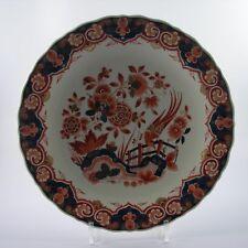 Porceleyne Fles Royal Delft polychrome Malerei Platte rund Holland Fels- Volgelm