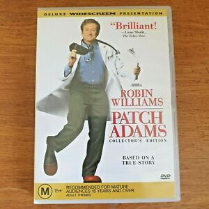 Patch Adams Deluxe Widescreen DVD - Robin Williams R4 - VERY GOOD - FREE POST~