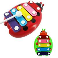 2015 Baby Child Kids 5-Note Xylophone Wisdom Development Beetle Musical Toys BG