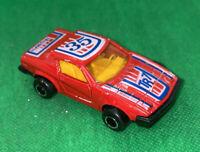 Vintage Majorette Triumph TR7 Red 35 Die-Cast Car 1/53