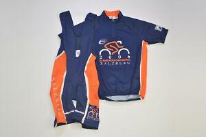 Rare Santini 2006 UCI Salzburg Set Jersey Bib Shorts Made in Italy Size M