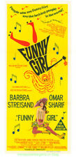 FUNNY GIRL MOVIE POSTER Original Australian Daybill 13x30 In BARBRA STREISAND !!