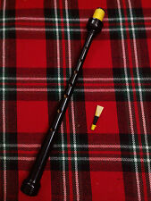 TC excellents Highland CORNEMUSE Tuyau mélodique couleur noir/CORNEMUSE ANCHE