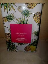 """ISSAC MIZRAHI Tropical Pineapple 60"""" by 104"""" Oblong Indoor Outdoor Table Cl"""
