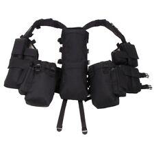Tactical weste mit vielen Taschen schwarz Einsatzweste