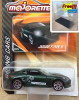 Majorette Jaguar F Type R Racing Dark Green Diecast Car 1:59 293B Free Show Box