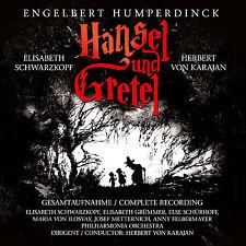 CD Hänsel et Gretel par Engelbert Humperdinck 2CDs avec Herbert von Karajan