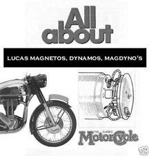 Lucas Classic Motorcycle  Shop Service Repair Manuals Magnetos Dynamos Magdyno's
