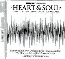 UNCUT - HEART & SOUL CD 15 TRACKS FROM THE JAGJAGUWAR LABEL NEW $ SEALED