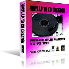 Transferencia De Lp De Vinilo / Cassettes A Cd Mp3 Ipod Iphone!