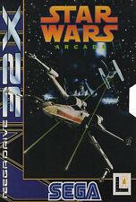 ## SEGA Mega Drive 32X - Star Wars Arcade - komplett ##
