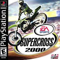 Supercross 2000 (PlayStation 1, PS1) Disc Only, Tested, Fast Free Shipping!