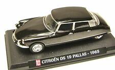 COLLECTION HACHETTE AUTO PLUS  IXO 1/43  CITROEN DS 19  PALLAS 1965 /1