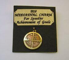 """""""Speedier Achievement of Goals """"   Medieval Star Charm Pendant"""
