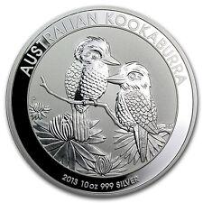2013 Australia 10 oz Silver Kookaburra BU - SKU #71386