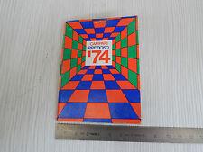 CALENDARIO AGENDINA 1974 CAMPARI PREZIOSO PROMO VINTAGE