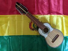 Charango artigianale realizzato e decorato a mano Sudamericano Boliviano origina