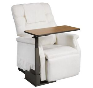Drive Riser Recliner Over Chair Bed Table Desk - Adjustable & Pivots - Brand New