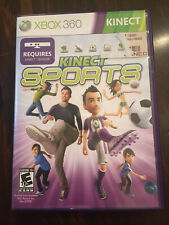 Kinect Sports (Xbox 360, 2010) CIB W/ Case And Manual. Tested And Working