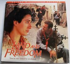 LASERDISC - NTSC - LAND AND FREEDOM - with Ian Hart, Rosana Pastor