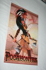 2018 Sorah Suhng 11 x 17 Art Print - Pocahontas - Signed