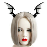 Bat Wings Ears Hair Hoop Halloween Party Headband Hairband Headwear Cosp FJ