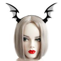Bat Wings Ears Hair Hoop Halloween Party Headband Hairband Headwear Cosp wy