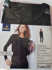TCM Tchibo Damen Funktions-shirt mit Mesh-Einsätzen Gr.M  40-42