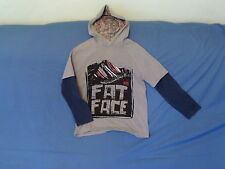 Fat Face Long Sleeve Hooded Boys' T-Shirts & Tops (2-16 Years)