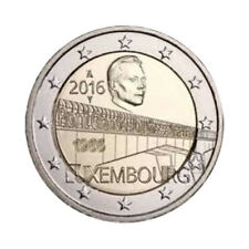 """Luxembourg 2 Euro commemorative coin 2016 """"Charlotte Bridge"""" - UNC"""