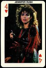"Dandy Rock ""N Bubble Gum : Jennifer Rush Playing Card  (C356)"