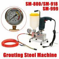 Electric Epoxy Injection Piston Pump Polyurethane Foam Grouting Steel Machine