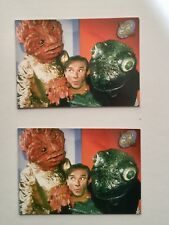 Lost in Space tv show two rare promo cards