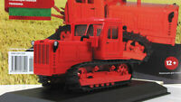 Scale model tractor 1:43 First generation t-4A, red