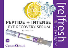 Refresh Peptide + Intense Eye Recovery Serum for Dark Circles and Puffiness