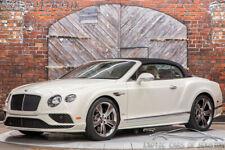 2018 Bentley Continental GT GTC Speed