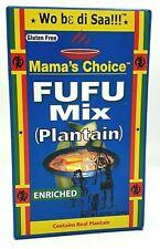 624g Fufu Mix Plantain Kochbanane Vegan Glutenfrei Fufou Maniok