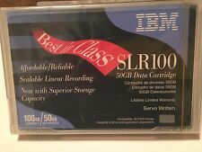 1 ONE  IBM SLR100  Data Tape cartridge 50/100GB P/N: 35L0968 NEW Factory Sealed