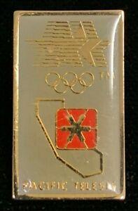 Rare Vintage 1980 LAOC Pacific Telesis California Baby Bell Olympic Pin! WPIN083