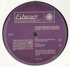 FRANKIE VALENTINE - Staring In The Face Of Extinction - Estereo