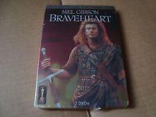 BRAVEHEART DVD SteelBook NEW&SEALED Mel Gibson Sophie Marceau Angus Macfadyen