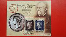 2015 Malaysia Miniature Sheet - 175th Anniversary Of Penny Black