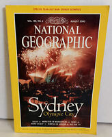 National Geographic Magazine Sydney Olympic City Aug 2000 Zulus Temples Angkor