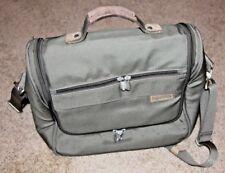 "Briggs & Riley Baseline Basic Tote Olive 14"" Carry On Bag tote Shoulder Luggage"